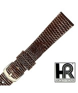 Hadley Roma MS970 18mm Brown Genuine Java Lizard Round Grain Men's ... S... - $25.25