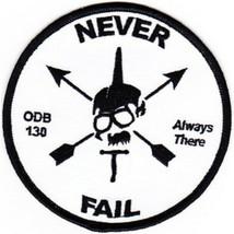 US Army SFG ODB-130 Patch Never Fail 4.0'' x 4.0'' - $13.85