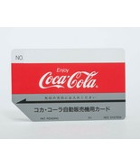 Coca Cola Bottlers Japan Expired Vending Machine Card Collector Item NCC... - $36.63