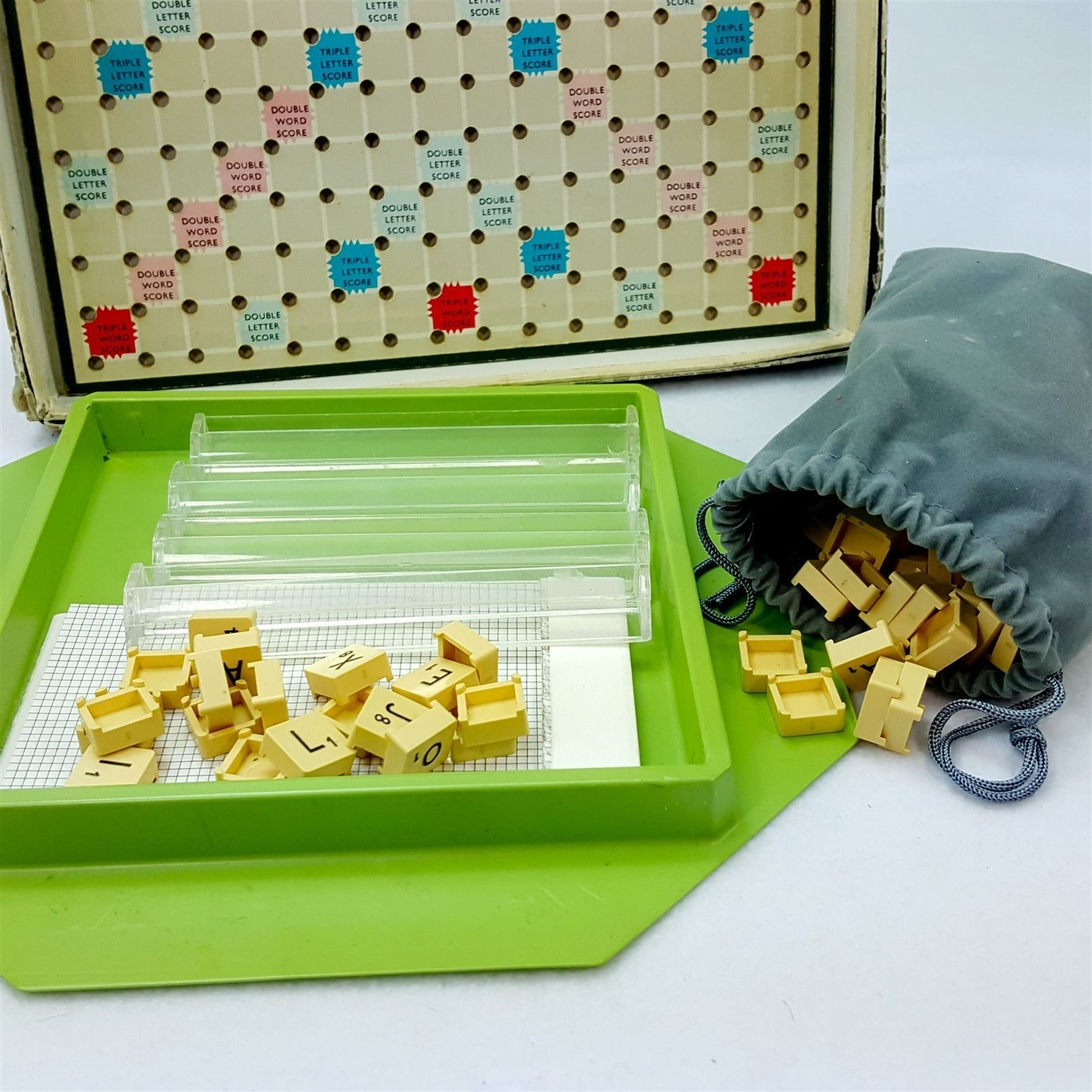 Vintage Travel Scrabble 99