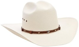 Stetson Men's Ocala N Cowboy Hat Woven Straw Rodeo Western Braided Band ... - $159.95