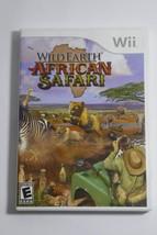 Wild Earth: African Safari (Nintendo Wii, 2008) COMPLETE - $7.69