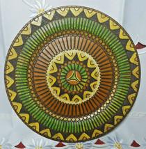 Albania Wood Plate Vintage Wall Art image 1