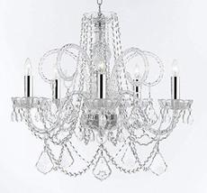 Murano Venetian Style Chandelier Crystal Lighting Chandeliers Lights Fix... - $233.23