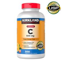 Kirkland Signature Chewable Vitamin C 500 mg., 500 Tablets - $16.65