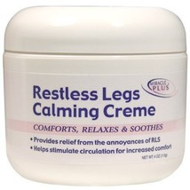 Restless Legs Calming Creme Foot Cream by Miracle Plus - $47.27