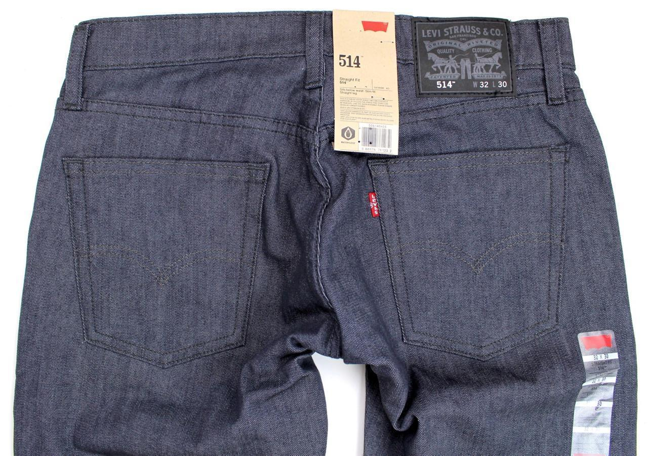 BRAND NEW NWT LEVI'S STRAUSS 514 MEN'S SLIM FIT STRAIGHT LEG JEANS 514-0435
