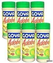 6 Pack Goya Adobo All Purpose Seasoning For Meat With Cumin/Con Comino 1... - $30.68