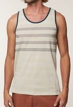 O'Neill IAGO TANK Mens 100% Cotton Sleeveless Tank Top Medium Bone NEW 2018 - $29.50