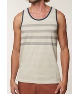 O'Neill IAGO TANK Mens 100% Cotton Sleeveless Tank Top Medium Bone NEW 2018 - $546,71 MXN