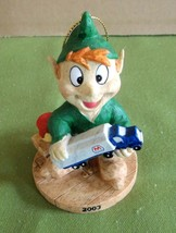 Marathon Oil 2003 Elf Christmas Ornament Series 3  # 3 of 6 New with Tag - $6.92