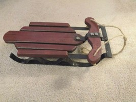 """Wooden Doll Sled 12.5"""" Long -FREE SHIPPING! - $19.79"""