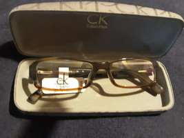 Calvin Klein Platinum CK5696 Frames and Case Brand new Size 50-16-135  - $43.54