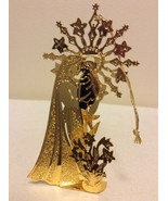 "1988 ""Mother & Child"" Danbury Mint Gold Christmas Ornament  - $14.95"