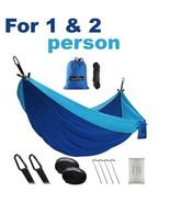 OlarHike Single Double Portable Camping Hammock w/ Tree Straps 500lbs Ca... - $37.61