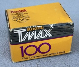 Kodak TMax100 B&W Negative Roll Film Expired 05/1994 - Sealed - $7.95
