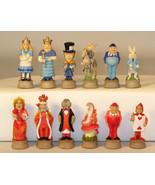 Alice in Wonderland Fantasy Chess Men Set -  Board Not Included - $85.00