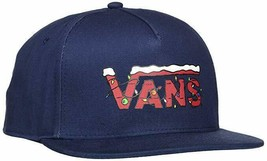 Vans Cap Peanuts Christmas Limited Edition Blue Navy Snapback Adults Uni... - $31.31