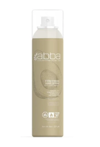 abba Firm Finish Hair Spray Aerosol, 8oz