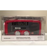ETON MICROLINK NFR160WXR Emergency Solar Crank AM/FM/Weather Radio Flash... - $59.97