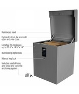 CleverMade Parcel LockBox S100 Series Secure Package Delivery Box Digita... - $69.99