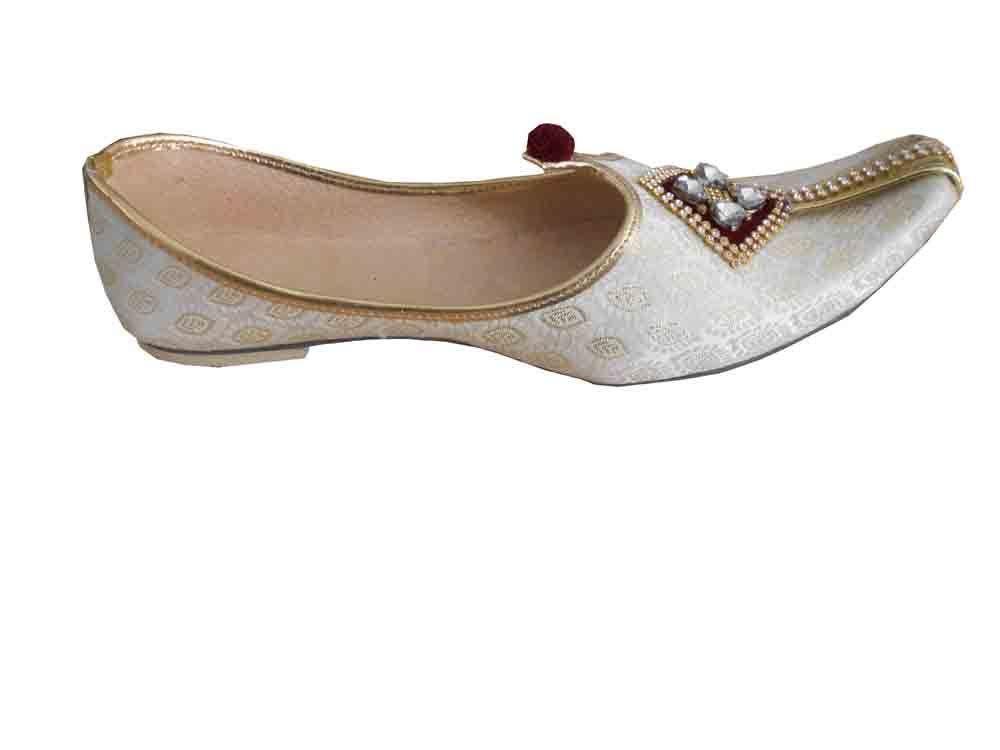 3f934a24e6127 Mojari Handmade Flip-flops Men Shoes Sherwani Jooti Indian Khussa Flat US 6- 12