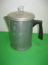 Vintage Wear-Ever Aluminum Percolating Coffee Pot for Camping No. X-3008... - $18.65