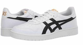 ASICS Tiger Size 8.5 M JAPAN S White Leather Sneakers New Womens Shoes - $58.81