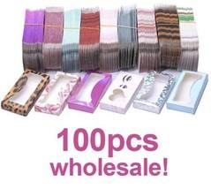 eyelashes box case,empty lashes Box Wholesalale,100pcs Lashes Packaging - $89.00