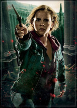 Harry Potter Deathly Hallows Hermione with Wand Art Image Refrigerator M... - $3.95