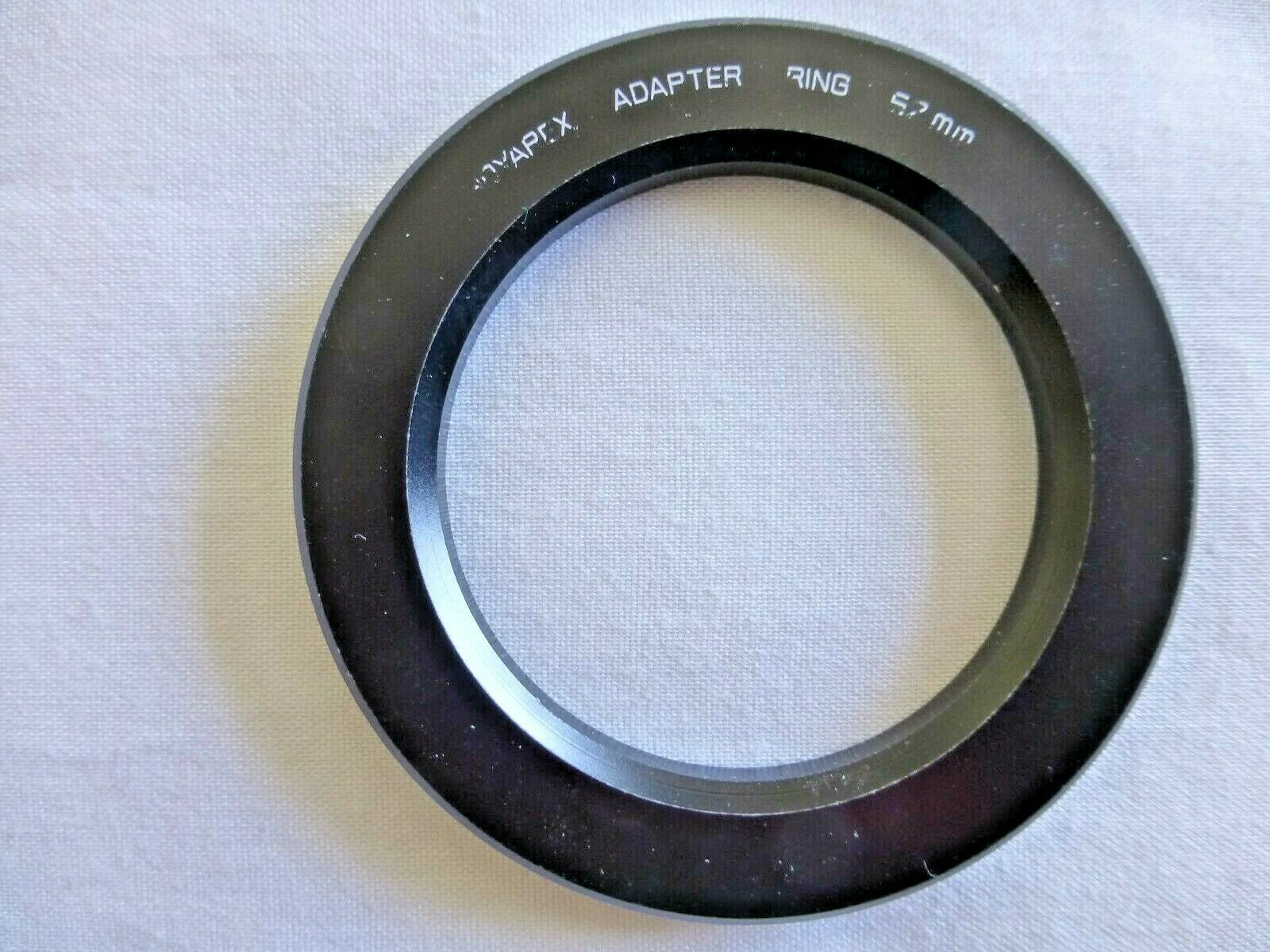 Hoya Genuine Hoyarex Adapter Ring 52mm for Hoyarex Holder Used Bin # H52u - $9.46