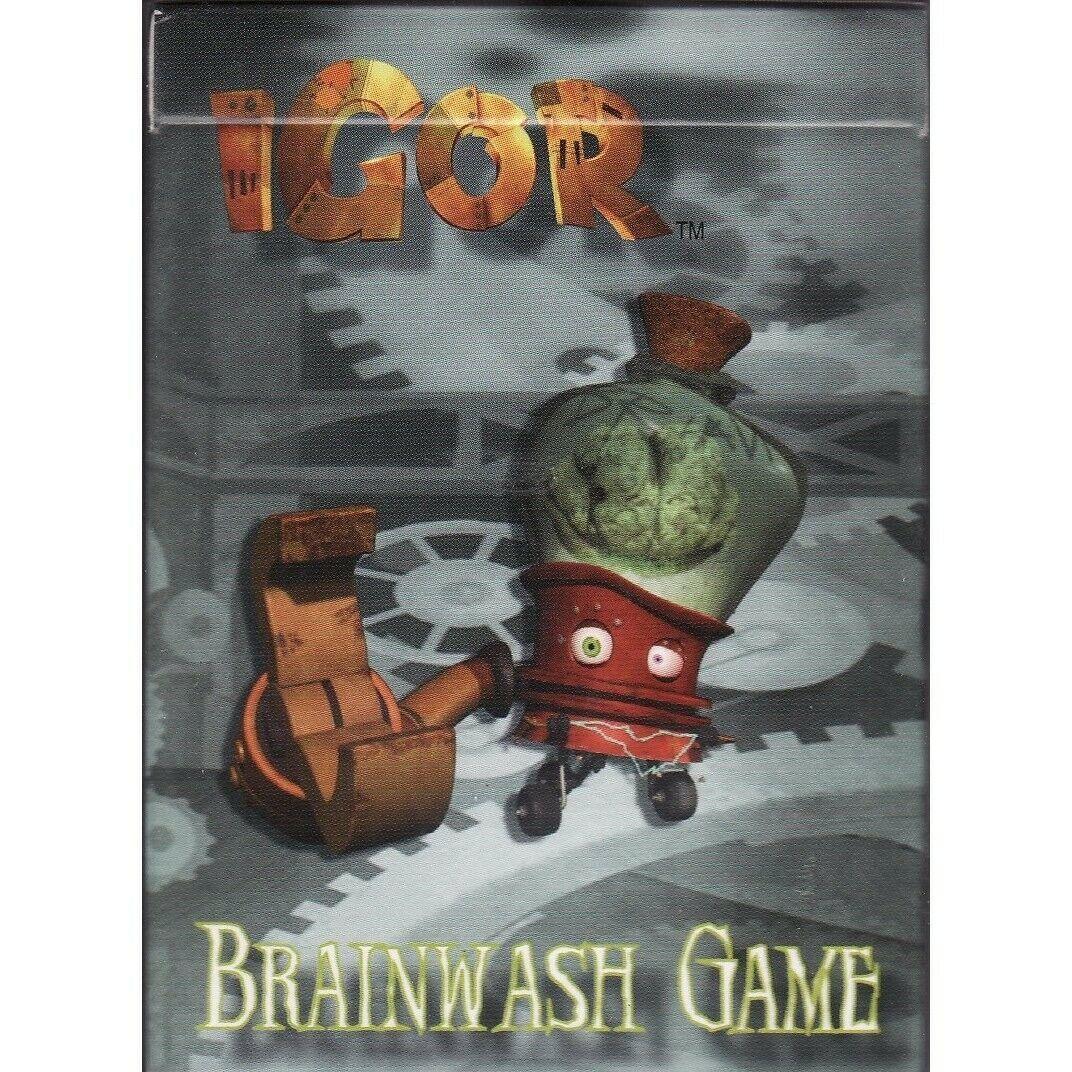"IGOR Movie ""Brainwash Game"" Card Game 2008"