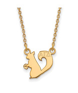 Ss/Gold Plated Sterling Silver With Gp Logoart Alpha Gamma Delta Xs Pend... - $36.75