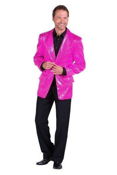Deluxe Sequinned Showman Jacket - Pink