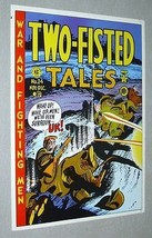 Original Official EC Comics Two-Fisted Tales 24 war comic book poster: 1970's - $29.99