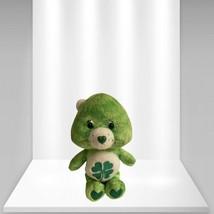 Care Bear Goodluck Green Shamrock Plush Animal Stuffed Toy 2002 - $17.08