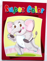 Super Coloring Book Large Pictures to Color on Each Page Kids Pre School... - $2.99