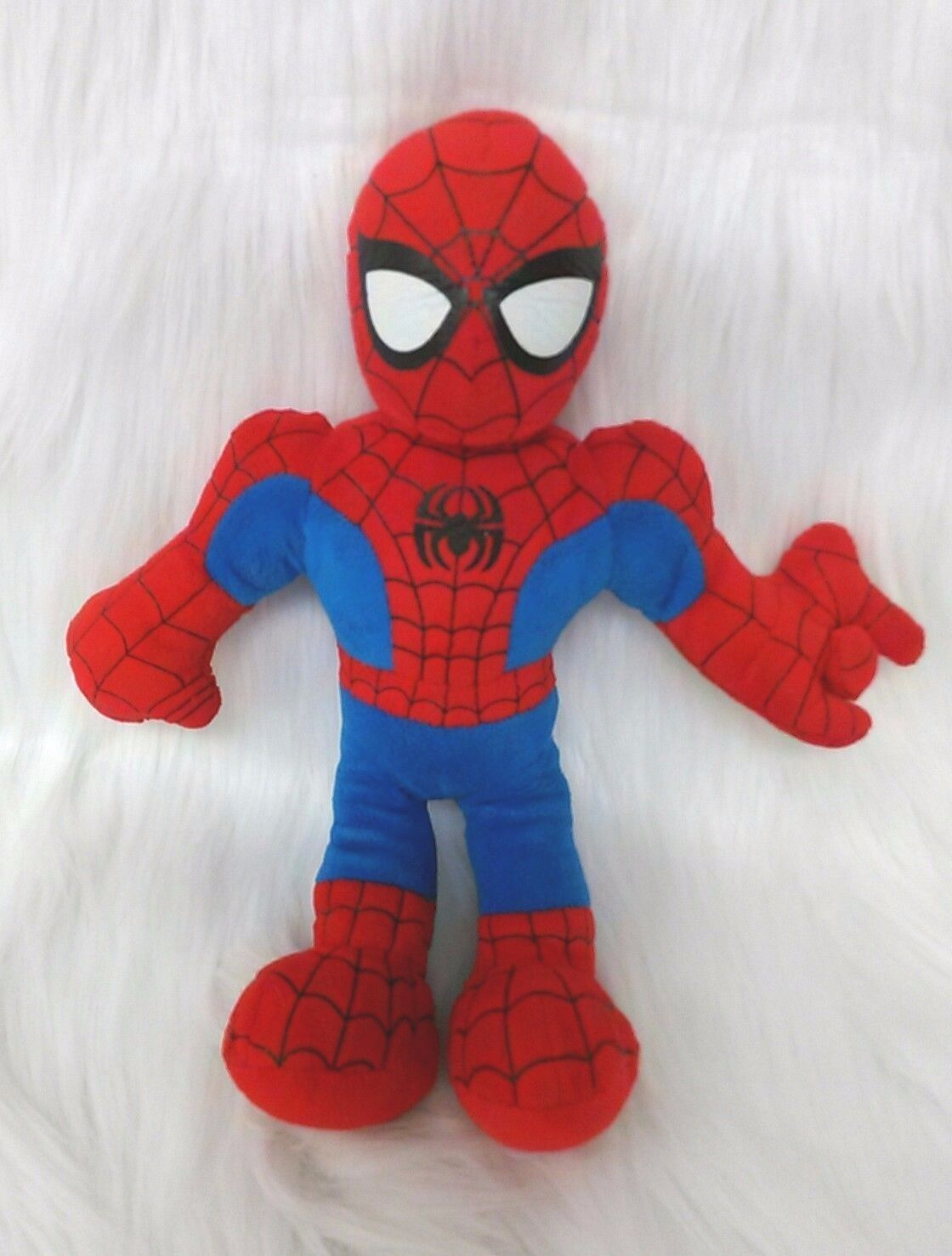 "8"" Spiderman Marvel Avengers Plush Doll Stuffed Toy Red Blue B290"