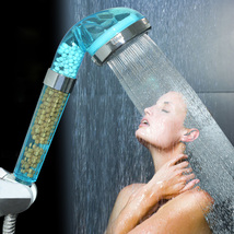 Handheld Negative Ion SPA Pressurize Shower Head Healthy Water Saving Sp... - $22.00