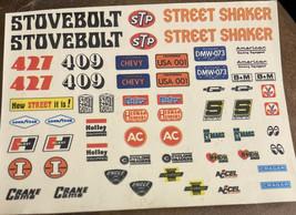 Amt Stovebolt Street Shaker Model Kit Decal Sheet #100-57 - $2.97