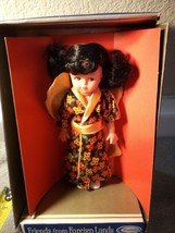 Friends Of Foreign Lands DOLL--MISS ORIENT---UNEEDA--FREE SHIP--NEW - $15.47