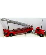 Smith-Miller S.M.F.D. Hook & Ladder Truck Circa 1950's Restored - $2,595.00