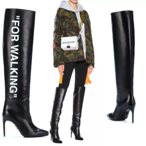 Primary image for $1500 Off—-White Virgil Abloh Boots FOR WALKING! Sale!