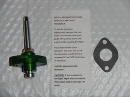 GREEN Timing Cam Chain Tensioner Manual Adjuster 1987-2004 KSF250 MOJAVE... - $51.41