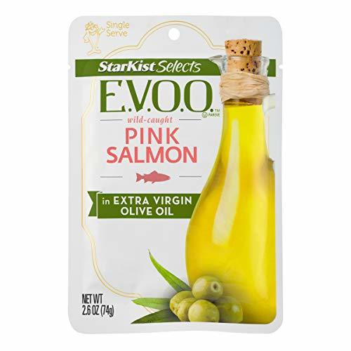 StarKist Selects E.V.O.O. Wild-Caught Pink Salmon - 2.6oz Pouch Pack of 12
