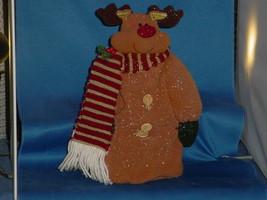 CHRISTMAS DECORATION Stuffed Rudolph Reindeer - $11.99