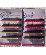 4 Goody Anita Bobby Slides Hair Pins Pearl Pink Magenta Beige White Gold... - $10.00