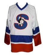 Picard  9 custom springfield indians retro hockey jersey white   1 thumbtall