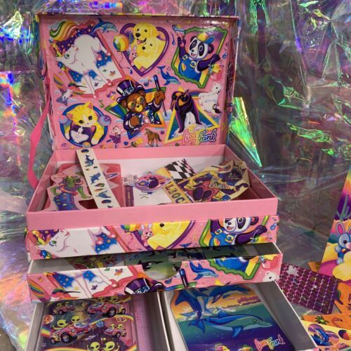 Vintage Lisa Frank Stationery Box Extras May Vary (better Stuff