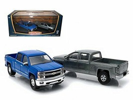 First Cut 2014 Chevrolet Silverado Hobby Exclusive Set 1/64 Greenlight 29827 - $19.95